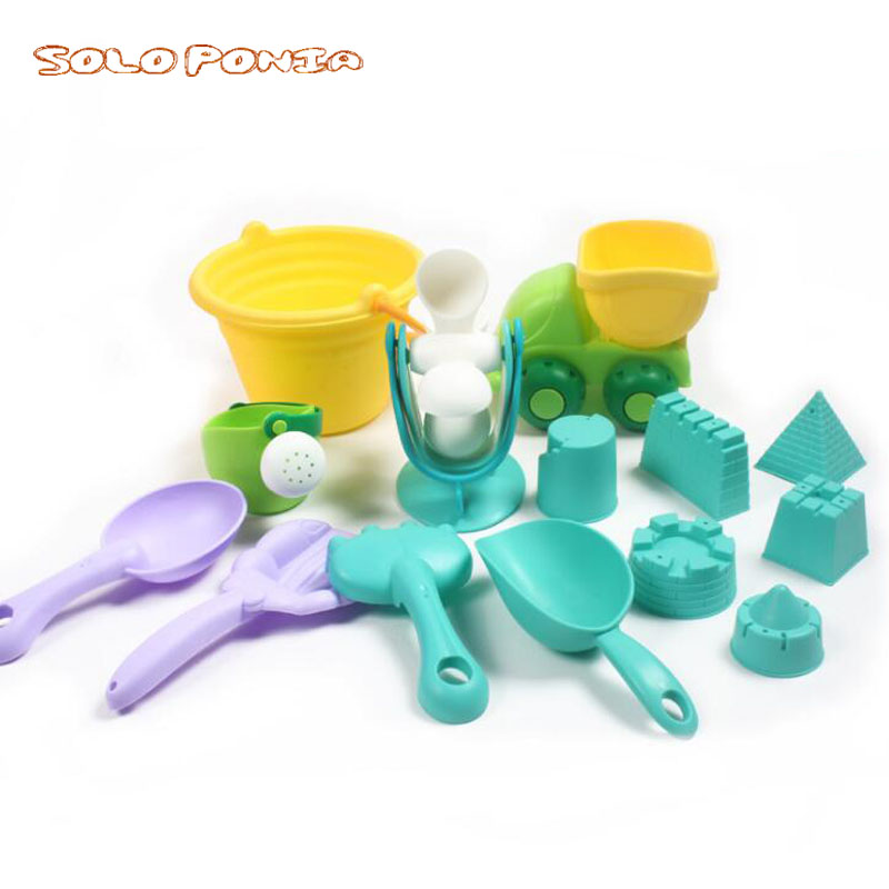 Classic Toys Swimming 8pcs Tpe Sand Beach Kids Beach Castle Bucket Spade Shovel Rake Water Tools Toys A# Dropshipping