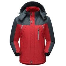 Фотография Winter Jacket Men Thermal Parka Coat Fashion Velvet Jackets Male Outwear Windproof Waterproof Windbreaker Jacket Plus Size 5XL