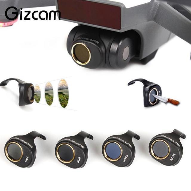 Фильтр nd16 для дрона spark посадочные шасси жесткие spark по дешевке
