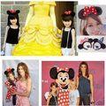 2016 crianças Novas Mickey headband Bonito Elsa Cabelo Da Orelha de Rato banda Pequeno minnie Mouse Headbands para As Mulheres Olá Kitty Cabelo acessórios