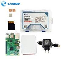 Raspberry pi 3 *1+16G SD card *1+Original shell* 1+EU power plug*1+heat sink*3+case for raspberry pi 3 kit*1 free shipping