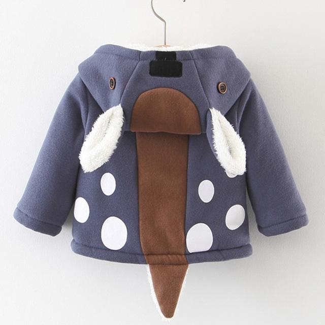 Deer Hooded Coat
