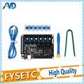 FYSETC F6 V1.3 плата все-в-одном электронный раствор материнская плата + 6 шт. TMC2130 V1.2 для SPI функция Летающий провод VS SKR V1.3