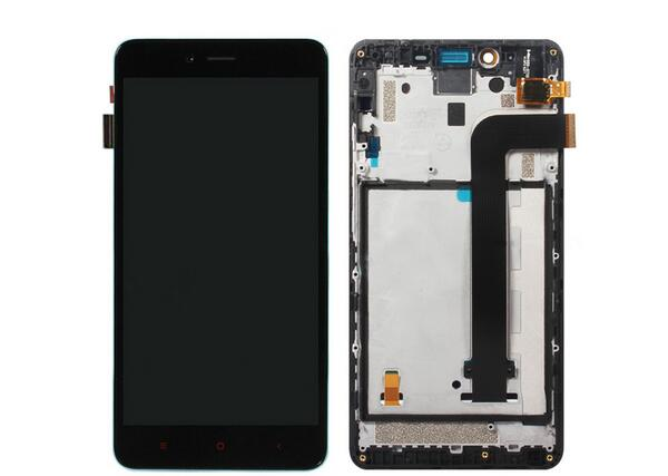 Replacement parts LCD Display+Touch Digitizer Screen glass+frame Assembly for Xiaomi note 2 hong mi note2
