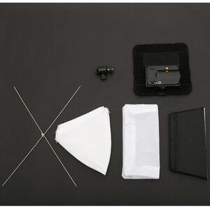 Image 5 - Falcon Gözler RX 8T 18 W Taşınabilir LED Fotoğraf Video Işığı 90 adet Su Geçirmez Esnek Katlanabilir Bez Lambası Difüzör