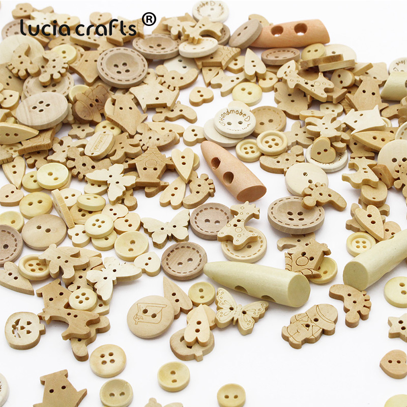 50pcs 4 Holes Round Resin Buttons Sewing Mixed color Scrapbooking 20mm//0.8 in