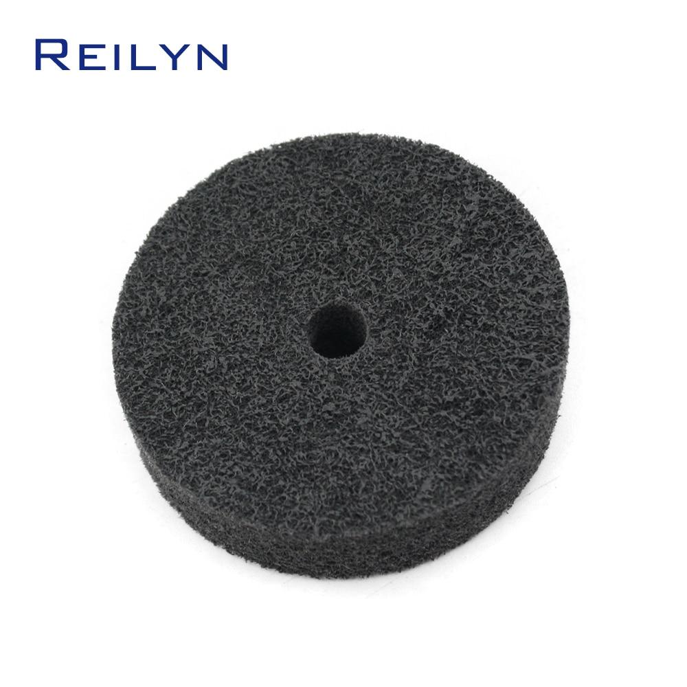 Free Shipping Nylon Non-woven Polishing Wheel 75mm Polishing Disc Fabric Polishing Roller Dremel Rotary Tool