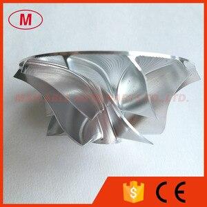 Image 3 - K24 5324 123 2007 42.37/60.50mm 6 + 6 lame Turbo Billet ruota del compressore/Alluminio 2024/ruota di fresatura per 911 GT2 (996), 911