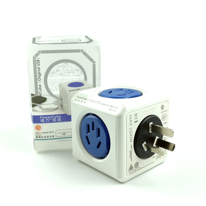 Image 5 - Allocacoc الذكية التوصيل Powercube الكهربائية USB مشترك كهرباء لأستراليا نيوزيلندا تمديد المقبس محول السفر المنزل
