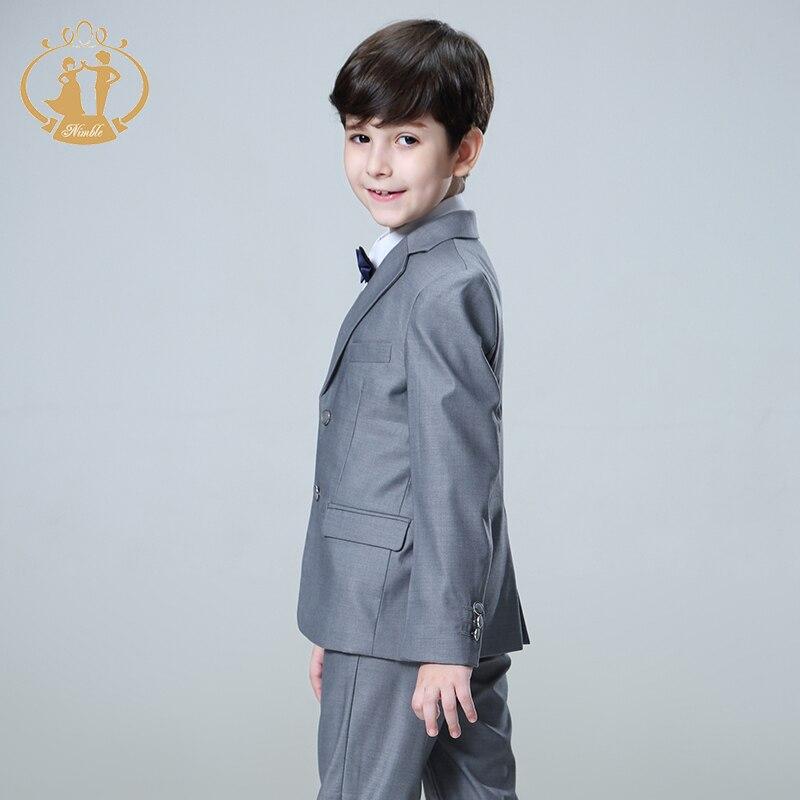 Nimble Suit for Boy Terno Infantil Boys Suits for Weddings Costume Enfant Garcon Mariage Disfraz Infantil Boy Suits Formal 2018