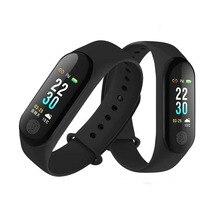 Smart Wristband Men M3 Plus Heart rate monitor Fitness Bracelet Fitness tTracker Pedometer blood pressure vs Miband for Xiaomi