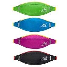Tênis de Corrida Unisex Cinto Saco Bum Viagens Handy Caminhadas Esporte Zip Saco de Fitness Gym Bag Lady Esporte Bloco de Fanny Correndo acessórios