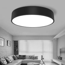 цена HAWBOIRRY ultra-thin LED living room chandelier hall bedroom restaurant hotel room office modern minimalist round ceiling lamp онлайн в 2017 году