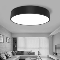 HAWBOIRRY ultra thin LED living room chandelier hall bedroom restaurant hotel room office modern minimalist round ceiling lamp
