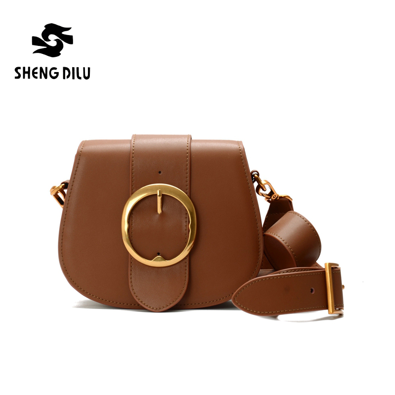 Fashion Women Genuine Leather Messenger Bag Ladies Small Crossbody Bags Female Brand Designer Shoulder Bags qiaobao 100% genuine leather bags new 2017 fashion brand ladies crossbody shoulder bag women messenger bags l3001