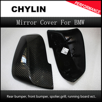 For BMW Carbon Mirror F30 F20 F32 F33 F36 X1 E84 2012 2016 F30 F32 F33 F20 Carbon Mirror Replacement Style caps