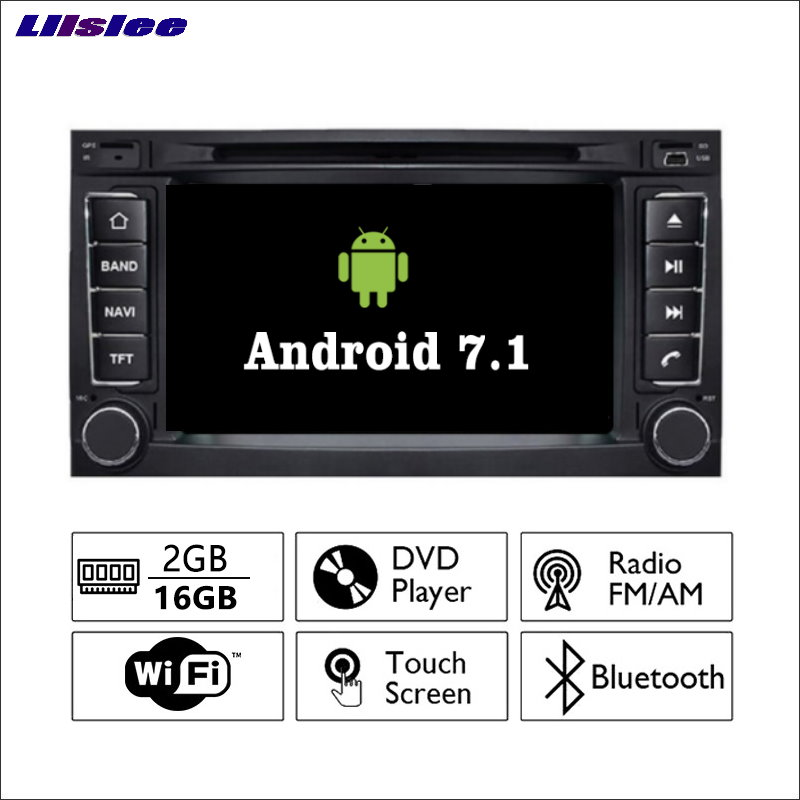 Krando Android 7 1 Car Radio Dvd Multimedia For Volvo S60: Liislee Android 7.1 2G RAM For Volkswagen VW Touareg Car