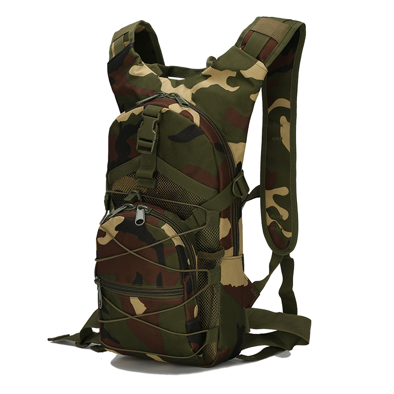 15L Outdoor Riding Backpack Sport <font><b>Bag</b></font> Tactical Military Oxford Bicycle Backpack Women Men Cycling Running For Water <font><b>Bag</b></font> Backpack