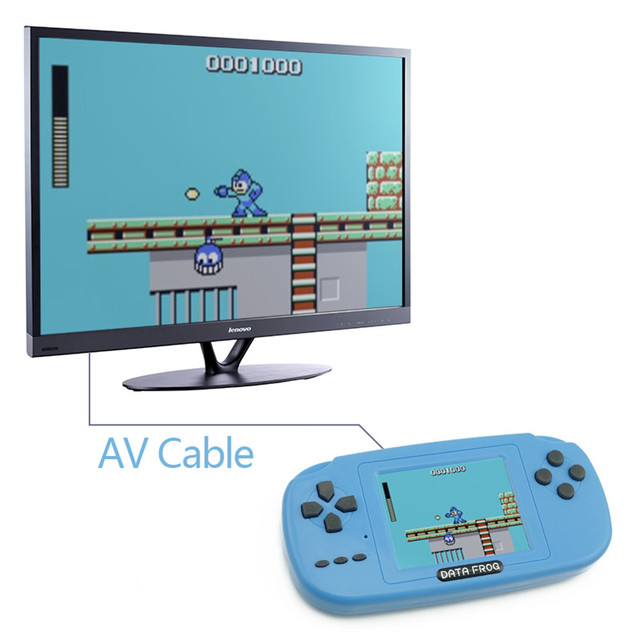 Childhood Classic Game With 168 Games 3.0 Inch 8-Bit PVP Portable Handheld Game Console Family TV Retro Video Consoles 4