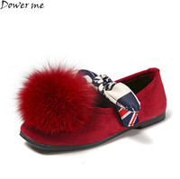 Spring Fall Children Shoes Girls Shoes Fashion Bowknot Comfortable Kids Casual Shoes Sneakers Toddler Girls Princess