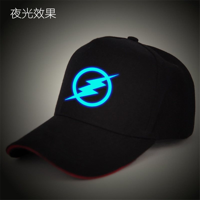 The Flash Hat Hero Barry Allen LED Light Adjustable Hip Hop Baseball Snapback Caps Hats For Adult Men Women Glow In The Dark game console creative design snapback caps cool hat adult letter baseball cap bboy hip hop hats for men women
