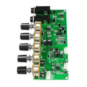 Image 2 - GHXAMP PT2399 Karaoke Reverb Microfoon Voorversterker Board Galm Versterker DIY DC12V Ingebouwde Boost Dynamische Dual P