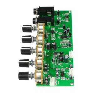 Image 2 - GHXAMP PT2399 קריוקי Reverb מיקרופון מגבר קדם לוח הדהוד מגבר DIY DC12V מובנה Boost דינמי כפולה P