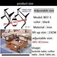 strengthening lift up coffee table mechanism furniture hardware cabinet desk hinge folding part