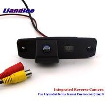 Liandlee For Hyundai Kona Kauai Encino 2017 2018 Car Rear View Backup Parking Camera Rearview Reverse / SONY CCD HD
