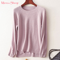 Menca Sheep Brand Winter Thick Warm Sweaters Women 100 Pure Cashmere Knitting Pulloves High Quality Goat