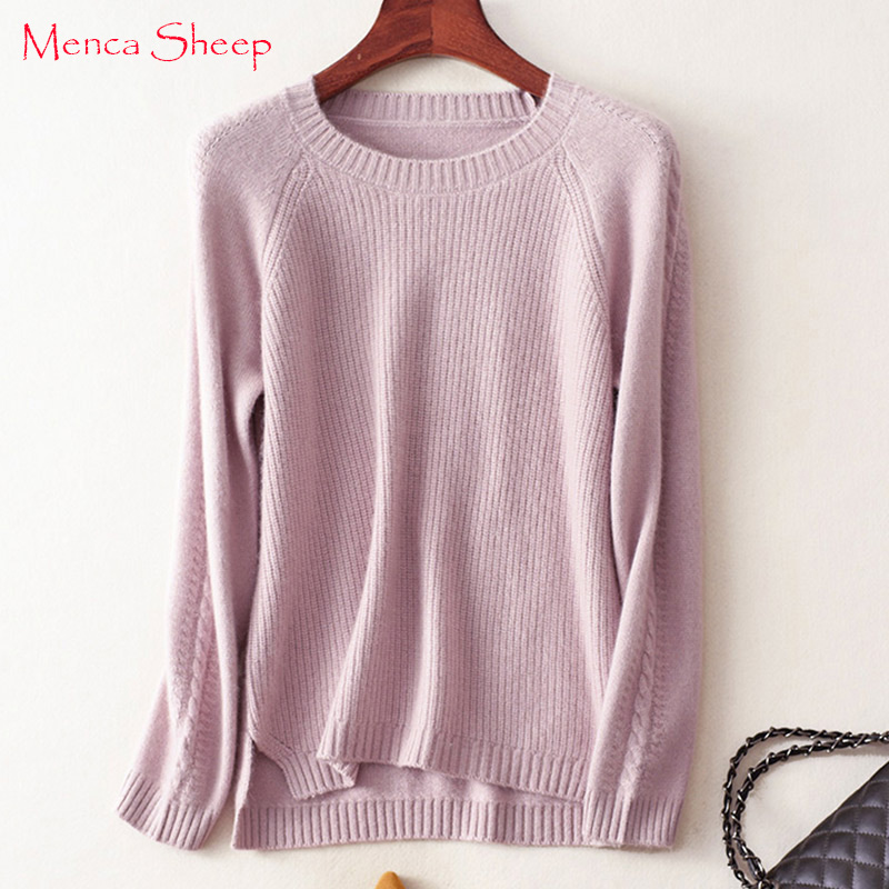 Menca Sheep Brand Winter Thick Warm Sweaters Women 100% Pure ...