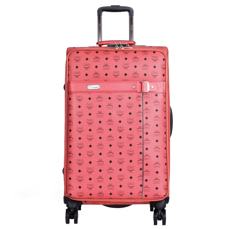 Popular Pink Leather Suitcase-Buy Cheap Pink Leather Suitcase lots ...