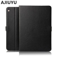 AJIUYU Case Cowhide For Apple IPad Pro 9 7 Inch Cases Protective Smart Cover Protector Genuine