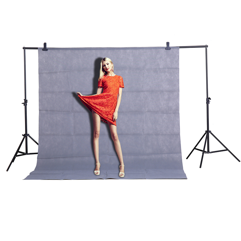 CY Hot sale Photo gray background cloth 1.6*3M/5*10FT Photography Studio Non-woven Backdrop Background Screen shooting portraits supon 6 color options screen chroma key 3 x 5m background backdrop cloth for studio photo lighting non woven fabrics backdrop