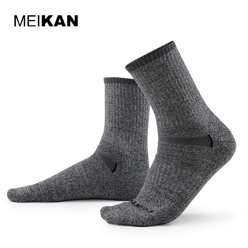really comfortable special for shoe good service MEIKAN Merino Running Socks High Quality Meias Esportes ...