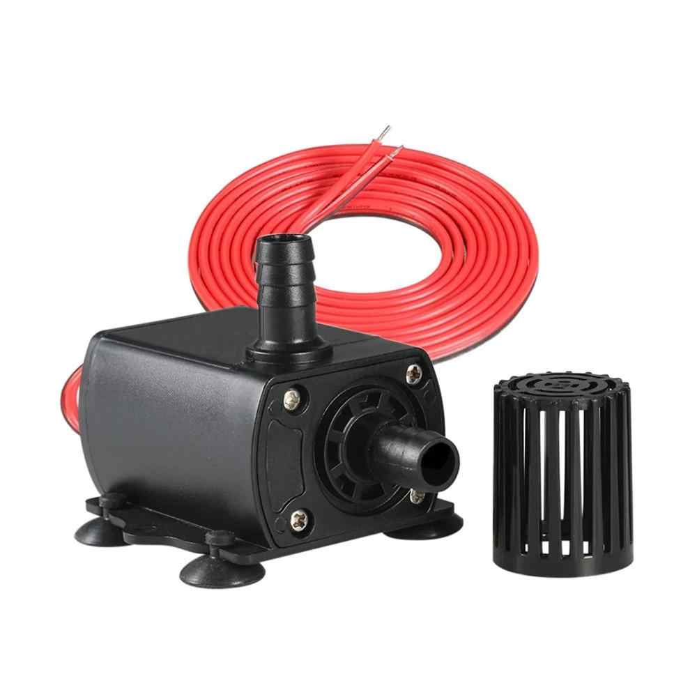 Micro DC brushless water pump computer water-cooled water circulation DC mother plug pump fountain water pump DC12V QR50E @15