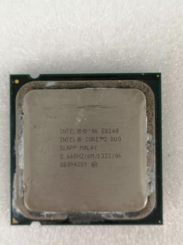 Intel Core 2 Duo E8200 Desktop Processor Dual-Core 2.66GHz 6MB Cache FSB 1333MHz LGA 775 E 8200 Used CPU
