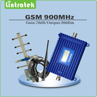 Full Set LCD Display Gsm Signal Booster Gsm 900mhz Mobile Phone Signals Booster Repeater With Yagi