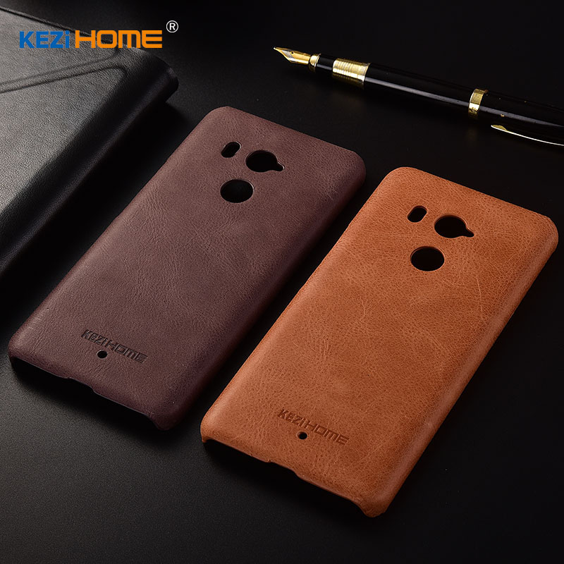 for HTC U11 Plus case KEZiHOME Frosted Genuine Leather Hard Back Cover capa For HTC U11 Plus U11+ 6.0 inch Phone Protector cases