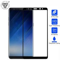 Lainergie 3D Clear 9H HD Tempered Glass Full Cover For Samsung Galaxy Note 8 Screen Protective