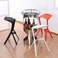 1 UNID Plástico Creativo Cafe Hotel Moderno Silla de Comedor silla de plástico
