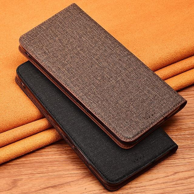 New Design Case For Lenovo Z5 Z5s Z6 Pro Lite GT Magnet Flip Stand Retro Phone Case Cover