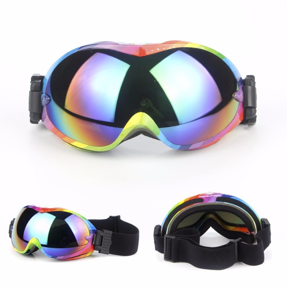 ski goggles double layers UV400 protective glasses anti-fog big ski mask glasses skiing men women snow snowboard goggle