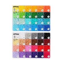 Бисер artkal C-2.6mm 48 цветов Коробка Набор DIY ювелирные изделия Модные наборы Perler Хама бусины игрушки CC48