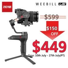 Zhiyun Weebill лабораторная камера стабилизатор беспроводной передачи изображения для беззеркальной камеры ручной 3-осевой карданный vs кран 3