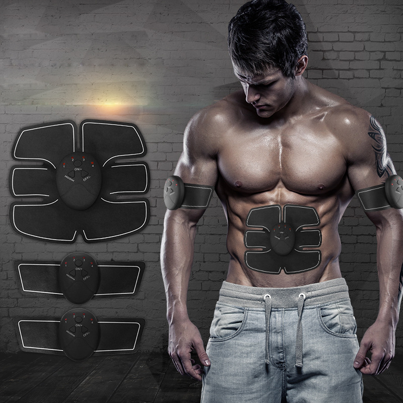 Multi-Function Abdominal Muscle Stimulator Exerciser Device Intensive multi function green