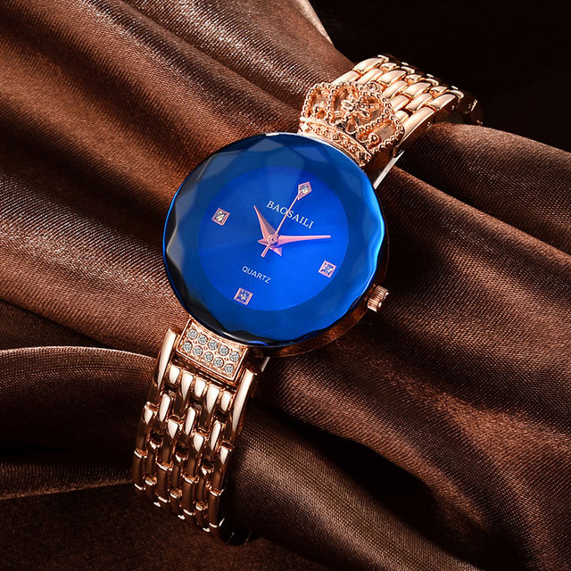 BSL958 BAOSAILI Shining Rhinestones Luxury Ladies Watches Japan Movement Stainle