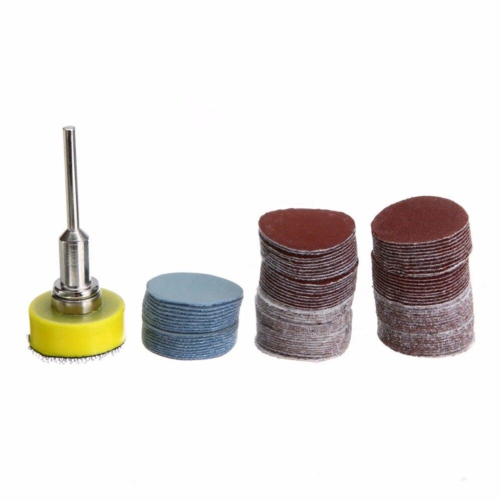 "100pcs High Quality Sanding Discs + 1"" Abrasives Hook ..."