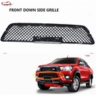 CITYCARAUTO GRILL PICKUP TRUCK FRONT GRILL COVER DOWN GRILLE FIT FOR TOYTA HILUX REVO SR5 M70 M80 2015-2017 DOWN SIDE GRILL