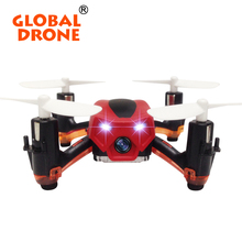 Global Drone GW008C 2.4G 4CH  Quadrocopter with camera RTF Nano Drone Mini Quadcopter Skull RC Drones VS Cheerson CX-10C  FQ777